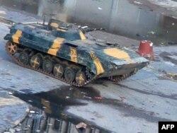 Sirijski tenk u gradu Homsu 26. decembra