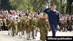 «Парад дошкільних військ» у російському П'ятигорську, 6 травня 2019 року