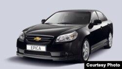 Chevrolet Epica автомобили.