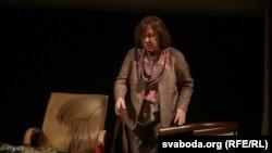 Лауреат Нобелевской премии по литературе 2016 года Светлана Алексиевич.
