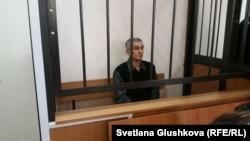 Член общины «Свидетелей Иеговы» 60-летний Теймур Ахмедов в суде первой инстанции. Астана, 27 марта 2017 года.