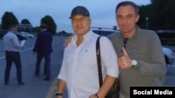 На фото еще две удаляющиеся от Кокоева и Тедеева мужские фигуры. В одной из них без труда угадывается руководитель Управления Кремля по приграничному сотрудничеству Алексей Филатов