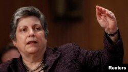 Former U.S. Homeland Security Secretary Janet Napolitano will lead the delegation.