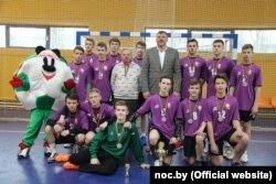З удзельнікамі міжнароднага дзіцячага турніру ў Ашмянах