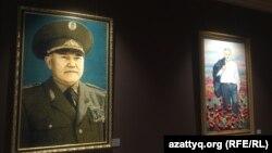 Нұрсұлтан Назарбаев музейіндегі экспозиция. Нұр-Сұлтан, 6 қазан 2020 жыл.