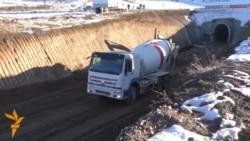 Пробурен второй тоннель на строящейся железной дороге «Вахдат-Яван»