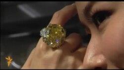 Sary almazyň $7,5 milliona satylmagyna garaşylýar