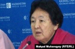 Профессор Күләш Құрманова. Алматы, 18 қазан 2011 жыл.