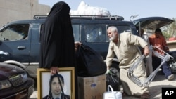 مشهد من معاناة المهجرين العراقيين