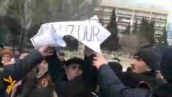 Aldadılmış payçılar Prezident Administrasiyası qarşısında