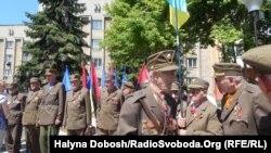 Ветерани визвольного руху на одній з акцій в Івано-Франківську, фото архівне