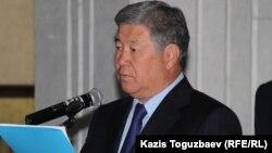 Алматы қаласы әкімі Ахметжан Есімов.