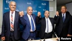 Лауреаты Нобелевской премии мира за 2015 год, участники Тунисской группы за национальный диалог.
