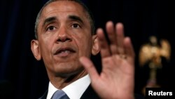 U.S. President Barack Obama has defended his country's surveillance of phone records.