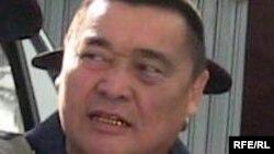 Рамазан Есергепов в день оглашения его тюремного приговора. Тараз, 8 августа 2009 года.