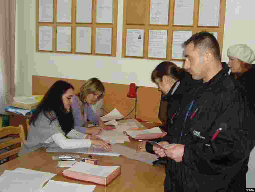 Голосування на закордонній виборчій дільниці № 109 у Празі