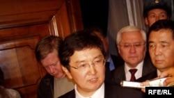 Кыргызстандын каржы министри Марат Султанов