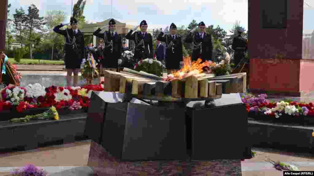 Ceremoniile de la Memorialul Eternitatea