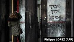 După demonstrația și violențele vestelor galbene la Paris