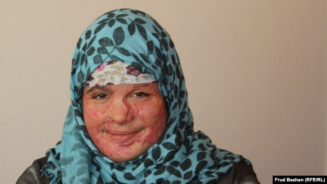 """The shelter has helped me a lot,"" says Mumtaz. ""If they hadn't helped me, I probably would have died."""