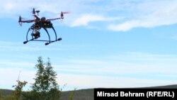 Arxiv fotosu: kiçik pilotsuz uçan aparat