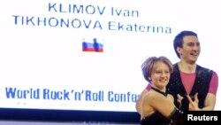 Катерина Тихонова на Всесвітньому кубку акробатичного рок-н-ролу, Краков, 2014 рік