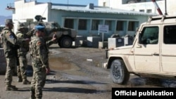 Армянские миротворцы в Афганистане (архивная фотография)