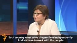 Interview: Former Kyrgyz President Roza Otunbaeva