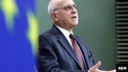 Грчкиот министер за надворешни работи Ставрос Димас.