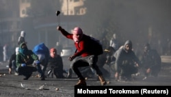 Протести палестинців на Західному березі Йордану проти рішення Вашингтона визнати Єрусалим столицею Ізраїлю