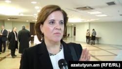 Представитель Международного валютного фонда в Армении Тереза Дабан Санчес (архив)