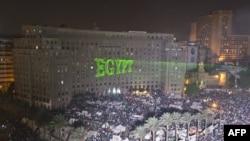 Protestele din piața Tahir la Cairo