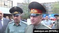 Начальник Генштаба ВС Беларуси Олег Белоконев, Ереван, 2 октября 2015 г.