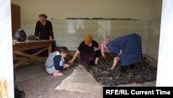 Помещение бурочного цеха в селе Рахата