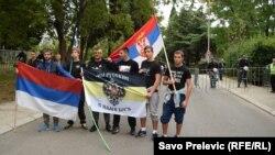 Антинатовские протесты в Черногории с русским участием. Октябрь 2015 года