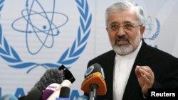 Iran's IAEA Ambassador Ali Asghar Soltanieh