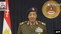 ژنرال محمد حسین طنطاوی، رئیس شورای عالی نیروهای مسلح مصر.