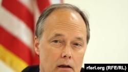 Afghanistan -- US deputy ambassador James Cunningham in Kabul, 31Oct2011