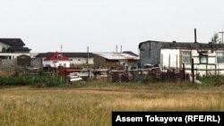 Астана маңындағы жер үйлер. (Көрнекі сурет)