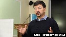 Предприниматель Маргулан Сейсембаев. Алматы, 21 сентября 2015 года.