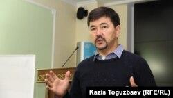 Марғұлан Сейсембаев, кәсіпкер. Алматы, 21 қыркүйек 2015 жыл.