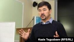 Кәсіпкер Марғұлан Сейсембаев. Алматы, 21 қыркүйек 2015 жыл.