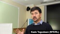 Казахстанский бизнесмен Маргулан Сейсембаев. Алматы, 21 сентября 2015 года.