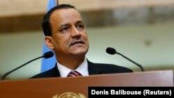 Специальынй посланник ООН по Йемену Исмаил Ульд Шейх Ахмед