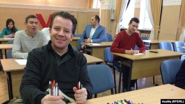 Мәскәүдә татарча диктант