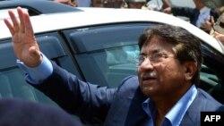 Покистон собиқ президенти Парвез Мушарраф, Карачи ш., 2013 йил 29 март.