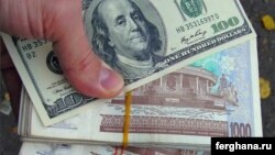 The Uzbek black-market rate for U.S. dollars has risen by 50 percent.