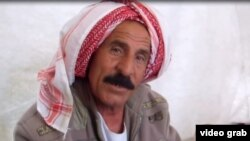 Taolo Rasu, a 60-year-old disabled Yazidi man, was held captive by the Islamic State (IS) group for six months.