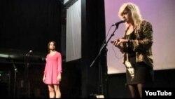 Райан Ормонд и Ребекка Кремин на вечере в поддержку Pussy Riot