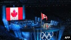 Церемония открытия Олимпиады в Ванкувере